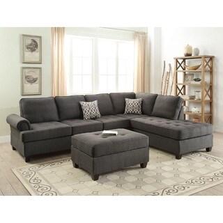Armavir Sectional Sofa Upholstered in Dorris Fabric