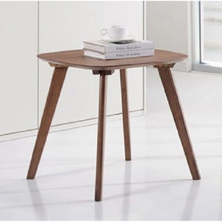 Simplicity Natural Walnut Contemporary End Table