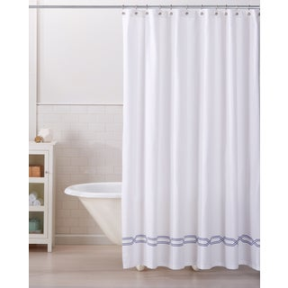Home Fashion Designs Lucianna Collection Printed Heavyweight Shower Curtain