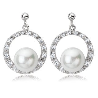 Avanti Sterling Silver Faux Pearl and