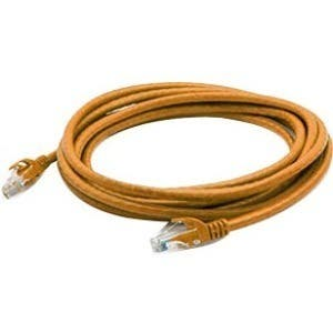 AddOn 5ft RJ-45 (Male) to RJ-45 (Male) Orange Snagless Cat6A UTP PVC Copper Patch Cable