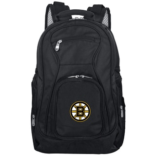 Denco Sports Mojo Boston Bruins Premium 19-inch Laptop Backpack