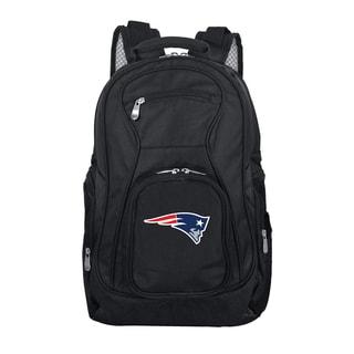 Denco Sports Mojo New England Patriots Premium Black Nylon 19-inch Laptop Backpack