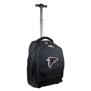 Denco Sports Mojo Atlanta Falcons Black Premium Wheeled Backpack