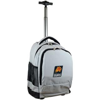 Denco Sports Mojo Phoenix Suns Premium Grey Wheeled Backpack