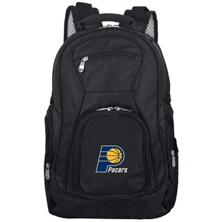 Denco Sports Mojo Indiana Pacers Premium Black Ballistic Nylon 19-inch Laptop Backpack