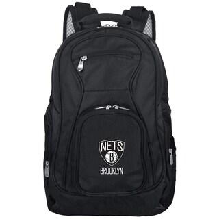 Denco Sports Mojo Brooklyn Nets Premium 19-inch Laptop Backpack