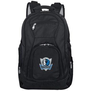 Denco Sports Mojo Dallas Mavericks Black Ballistic Nylon, Nylon, and Denim Premium 19-inch Laptop Backpack