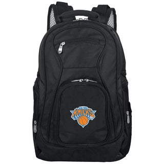 Denco Sports Mojo New York Knicks Premium Black Ballistic Nylon 19-inch Laptop Backpack