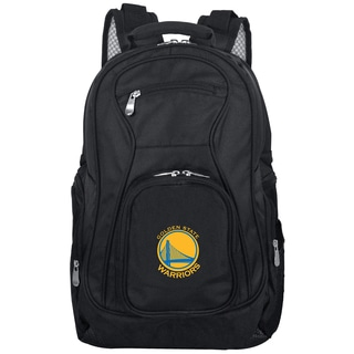 Denco Sports Mojo Golden State Warriors Black Premium 19-inch Laptop Backpack