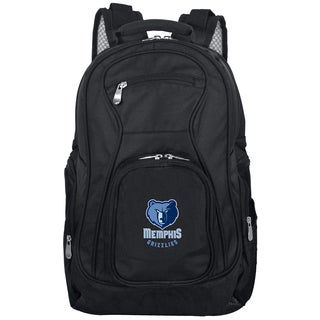 Denco Sports Mojo Memphis Grizzlies Black/Blue Nylon/Denim 19-inch Laptop Backpack