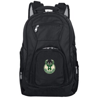 Denco Sports Mojo Milwaukee Bucks Black Nylon 19-inch Laptop Backpack
