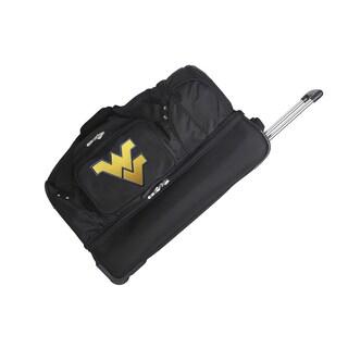 Denco Sports Mojo West Virginia 27-inch Rolling Drop Bottom Duffel Bag