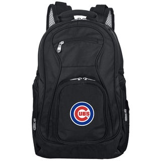 Denco Sports Mojo Chicago Cubs Premium 19-inch Laptop Backpack