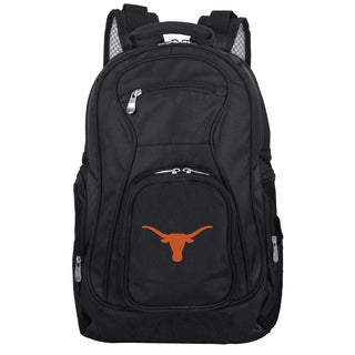 Denco Sports Mojo Texas Premium Black Ballistic Nylon 19-inch Laptop Backpack