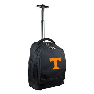 Denco Sports Mojo Tennessee Premium Black Nylon Wheeled Backpack