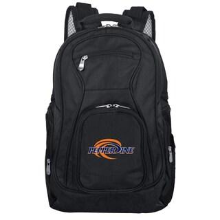 Denco Sports Mojo Pepperdine Black Ballistic Nylon Premium 19-inch Laptop Backpack
