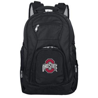 Denco Sports Mojo Ohio State Premium Black Nylon 19-inch Laptop Backpack