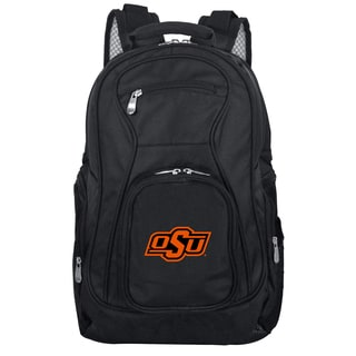 Denco Sports Mojo Oklahoma State Premium Black Nylon 19-inch Laptop Backpack