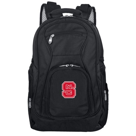 Denco Sports Mojo North Carolina State Premium Black Ballistic Nylon 19-inch Laptop Backpack