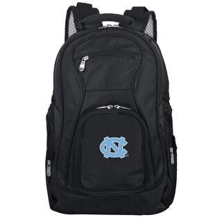 Denco Sports Mojo North Carolina Black Nylon and Denim 19-inch Laptop Backpack