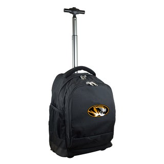 Denco Sports Mojo Missouri Premium Black Wheeled Backpack
