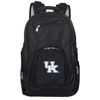 Denco Sports Mojo Kentucky Black Nylon and Denim 19-inch Laptop Backpack