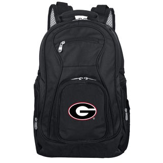 Denco Sports Mojo Georgia Bulldogs Premium 19-inch Laptop Backpack