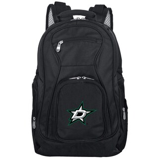 Denco Sports Mojo Dallas Stars Premium 19-inch Laptop Backpack