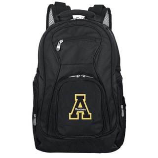 Denco Sports Mojo Appalachian State Premium Black Ballistic Nylon 19-inch Laptop Backpack
