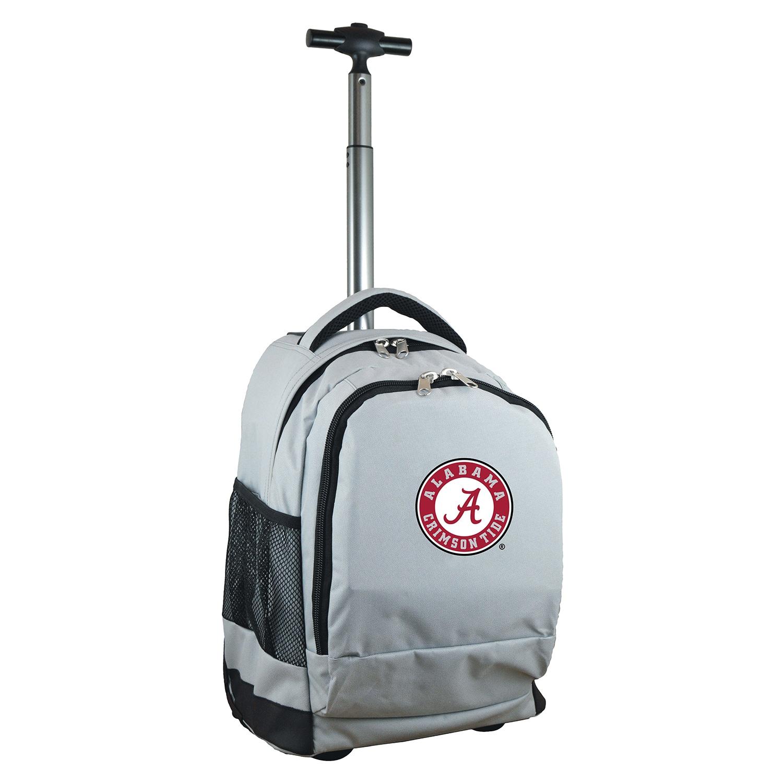 DENCO Sports Mojo Alabama Premium Grey Wheeled Backpack (...