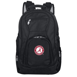 Denco Sports Mojo Alabama Premium Black Ballistic Nylon 19-inch Laptop Backpack