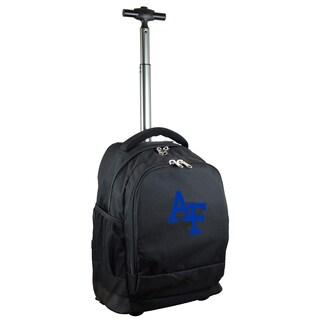 Mojo US Airforce Academy Premium Black Wheeled Backpack
