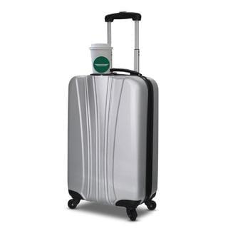 VisionAir 'Beverage Pal' Hardside Carry-on Spinner Suitcase