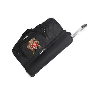 Denco Maryland 27-inch Rolling Drop Bottom Duffel Bag