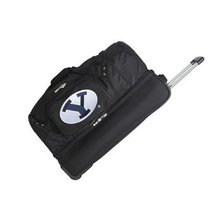 Denco Brigham Young University 27-inch Rolling Drop Bottom Duffel Bag