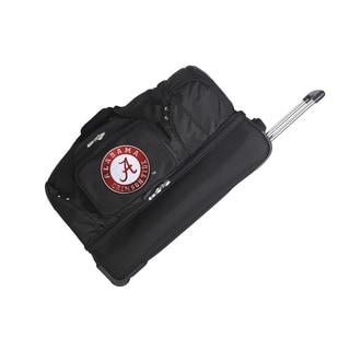 Denco Alabama Polyester Blend 27-inch Rolling Drop Bottom Duffel Bag