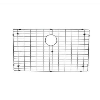 Starstar Silver Finish Stainless Steel 27-inch x 15-inch Kitchen Sink Bottom Grid