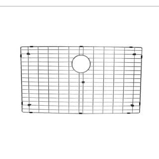 Starstar Kitchen Sink Bottom Grid, Stainless Steel,30x17