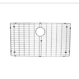 Starstar Kitchen Sink Bottom Grid, Stainless Steel,30x17