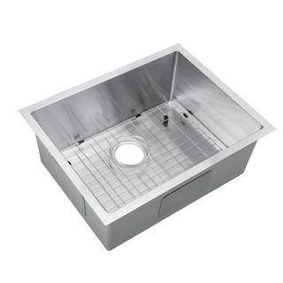Starstar Undermount Stainless Steel Single-bowl Kitchen/Bar Sink and Grid (23 x 18)