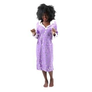 Hadari Womens Soft Lovely DreamerStar Print Pajama Sleepwear