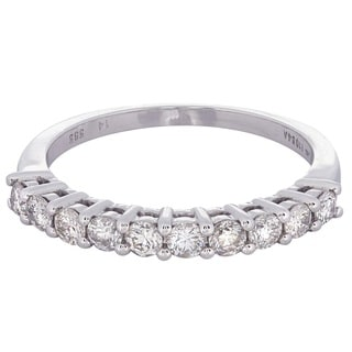 14k White Gold 5/8ct TDW Diamond Wedding Band (H-I, I1-I2)