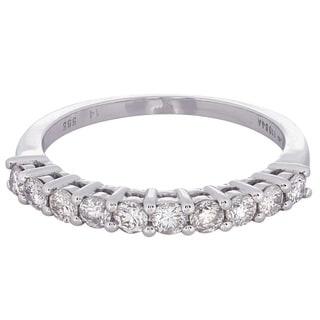 14k White Gold 5/8ct TDW Diamond Wedding Band (H-I, I1-I2)