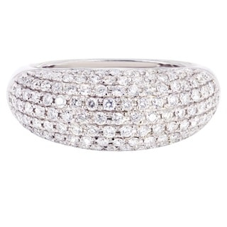 14k White Gold 1 1/5ct TDW Diamond Ring (H-I, SI2-SI3)