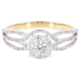 14k Yellow Gold 5/8ct TDW Diamond Engagement Ring|https://ak1.ostkcdn.com/images/products/13250726/P19964543.jpg?impolicy=medium