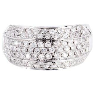 14k White Gold 1 1/10ct TDW Diamond Ring