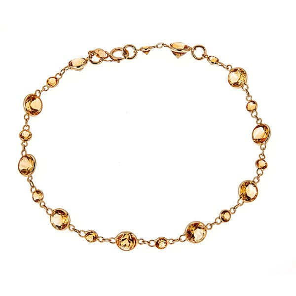 shui round luck citrine financial faceted beads for feng bracelet beautiful