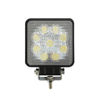 "Pyle PLEDSQ27 LED Lamp Spot Light - Water Resistant Beam Flood Light (27 Watt, 4.2"")"
