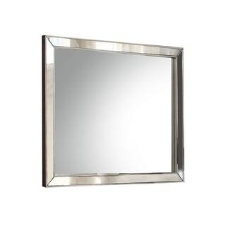 Acme Furniture Voeville II Silvertone MDF Mirror - Silver